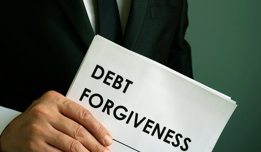 credit card debt forgiveness