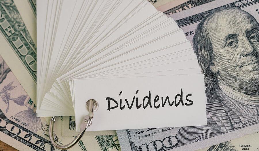 dividends cards over us money