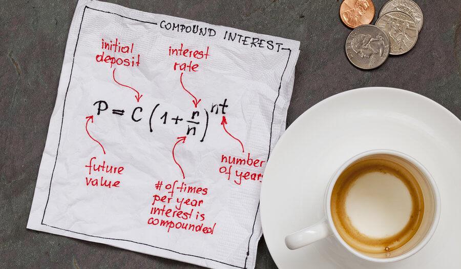 compound interest on a napkin