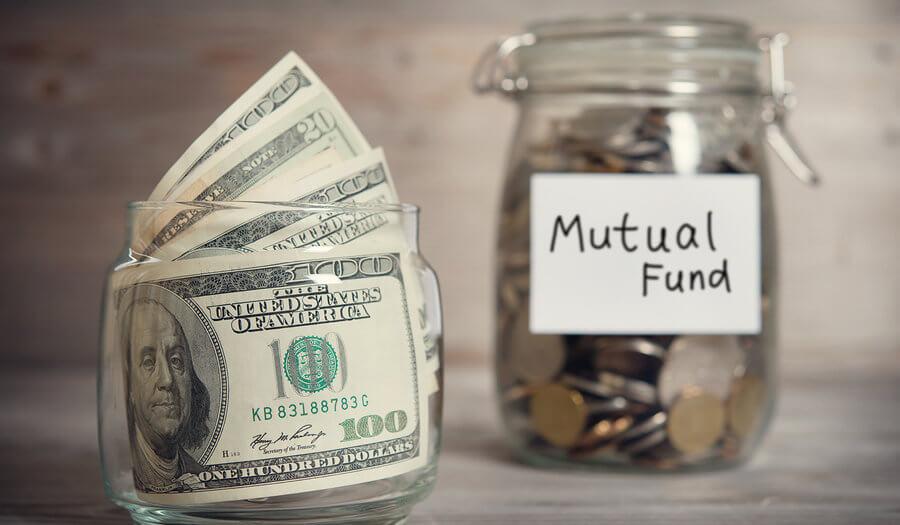 mutual fund money in a jar