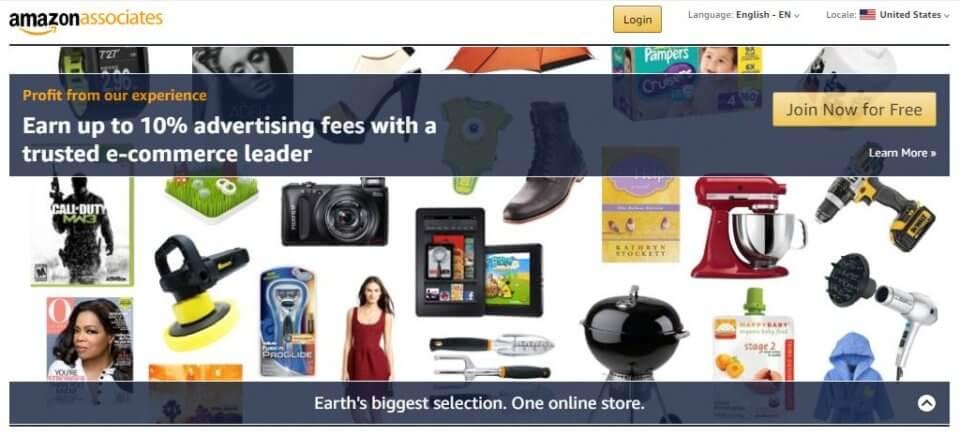 amazon affiliate partner