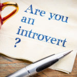 introvert question on napkin