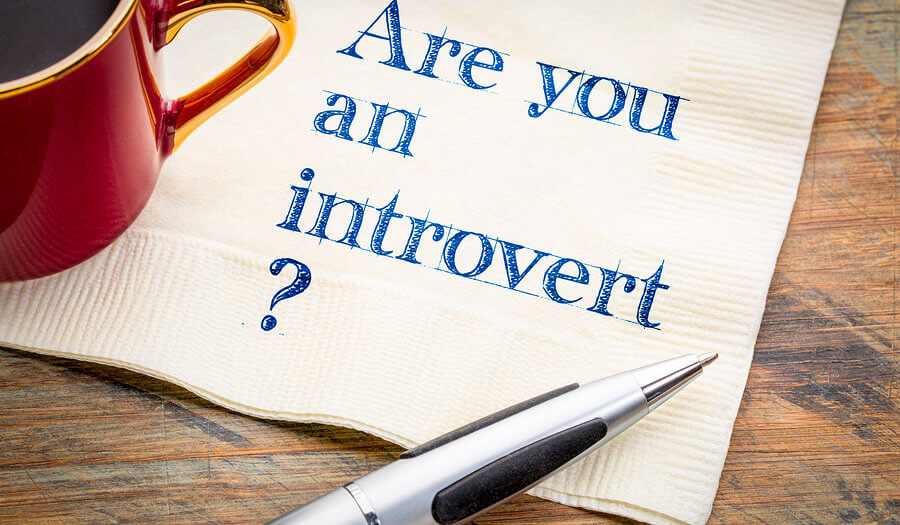 introvert question on a napkin