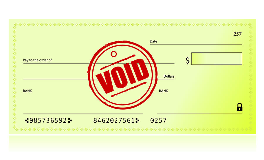 Can You Get A Voided Check Online Pnc How To Void A Check And When To Use One