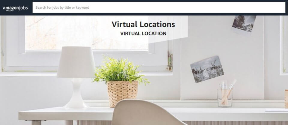 amazon virtual jobs