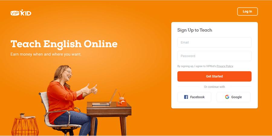 vipkid online tutoring website