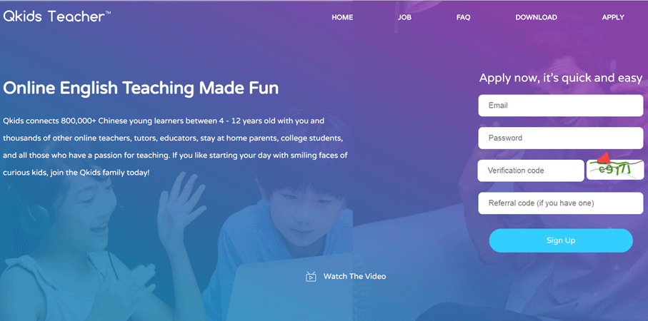 qkids online tutoring website