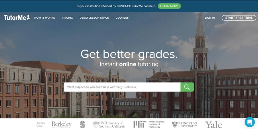 tutorme online tutoring website