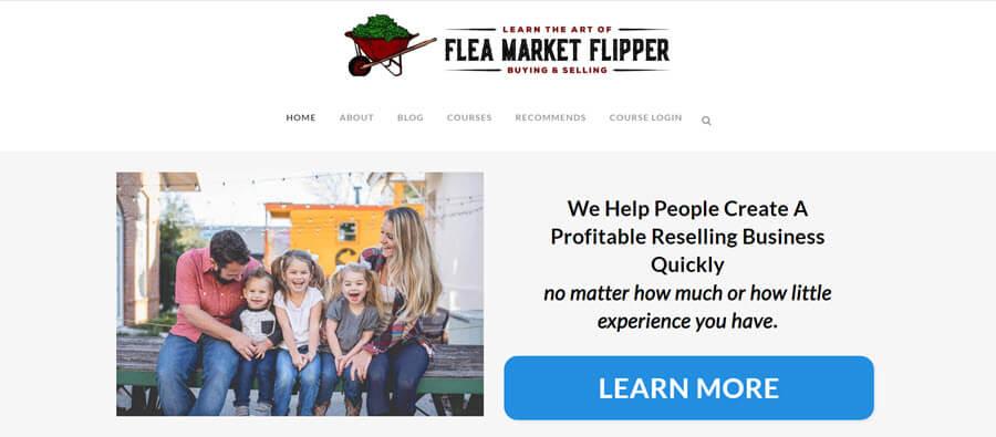 part time flea market flipper