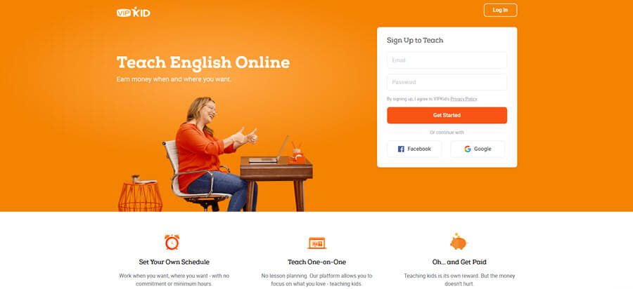 teach english online part time