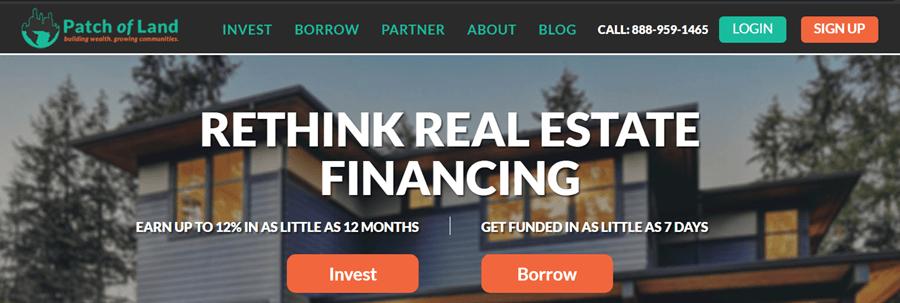 patch of land crowdfunding platform