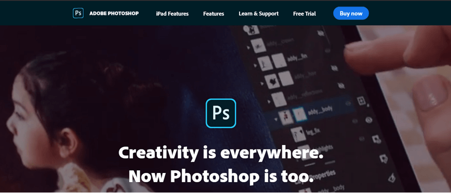 adobe photoshop editing software