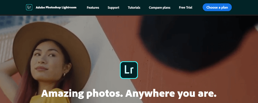 adobe photoshop lightroom editing software