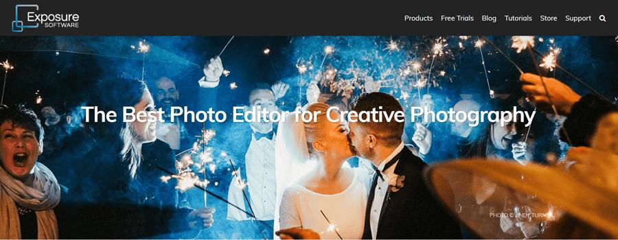 exposure photo editing software