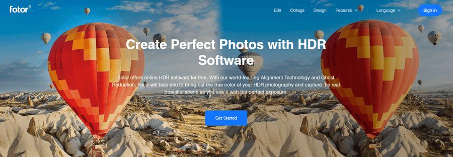 fotor hdr software