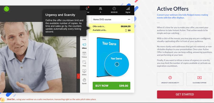 webinarjam active offers