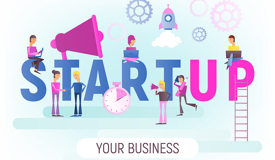 start your business graphic