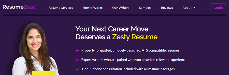 resume zest writing services