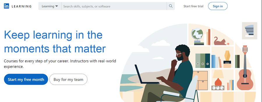 linkedin online learning platform